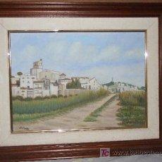 Arte: OLEO DE SANT POL DE MAR. Lote 26660883