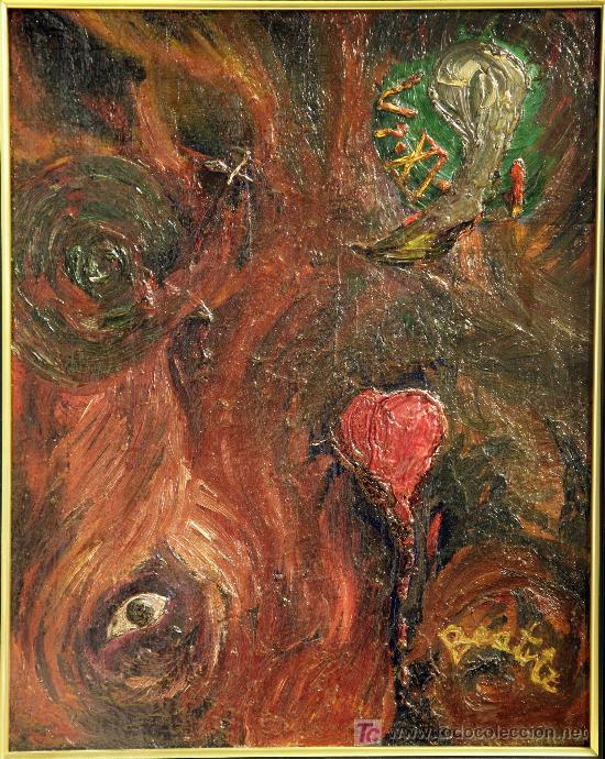 BONITO CUADRO ABSTRACTO (Arte - Pintura - Pintura al Óleo Contemporánea )