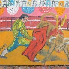 Arte: `PASE DE CASTIGO 30X24 DE CRESPO ,PINTOR CON CUADROS EN COLECCIONES PRIVADAS DEL MUNDO ENTERO.. Lote 11458964