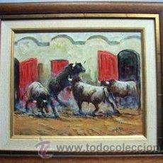 Arte: PRECIOSO OLEO CON MARCO. Lote 27483936