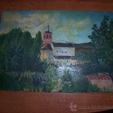 Arte: OLEO SOBRE TABLA IGLESIA. Lote 8203868