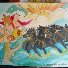 Arte: EL RAPTO DE PERSÉFONE 40X50 CM. OLEO SOBRE LIENZO EN BASTIDOR DE CRESPO. Lote 12324375