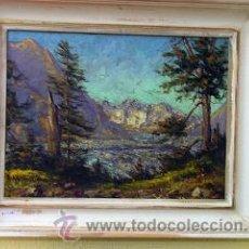 Arte: VIEJO OLEO FIRMADO. Lote 18802775