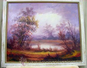 OLEO SOBRE TABLA (Arte - Pintura - Pintura al Óleo Moderna sin fecha definida)