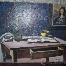 Arte - CUADRO TELA TITULO (MESA ) - 8811319