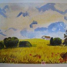 Arte: OLEO ORIGINAL DEL PINTOR CATALAN TICO (PAISAJE). Lote 269997093