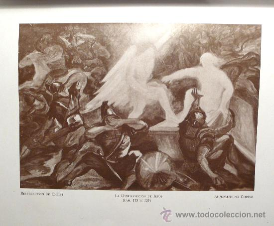 Arte: Kallinik Gousseff, la resurección de jesús, 1928, pintura al óleo sobre tela. 123 x 176 cm - Foto 5 - 22974035