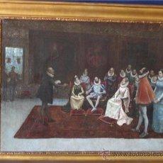 Arte: TURINA Y AREAL JOAQUIN (1847-1903) OLEO SOBRE TELA ¡¡¡¡¡¡¡LIQUIDACIÓN!!!!!!!!!!. Lote 16407280