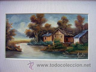Arte: Paisaje al oleo con marco - Foto 2 - 26798696