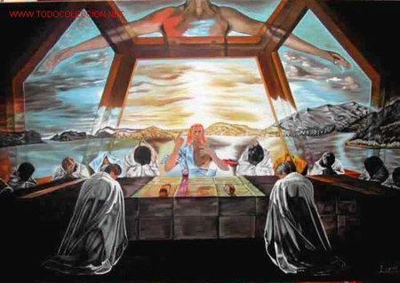 LA ULTIMA CENA EN PORT LLIGAT JOSÉ GABARRÓ (Arte - Pintura - Pintura al Óleo Contemporánea )