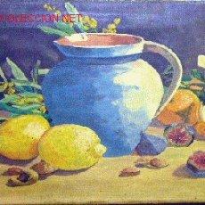 Arte: 1109.- OLEO S/TELA 26X45 ,,, M.DURAN 1939. Lote 26386370