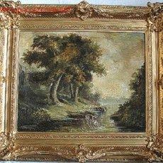 Arte: PINTURA EUROPEA ESCUELA FRANCESA, PIERRE ANDRY. CA 1910. Lote 26666502
