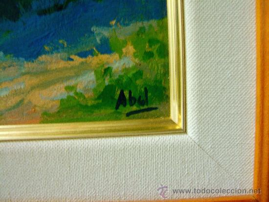 pintura española (2 cuadros). paisaje y marina. - Comprar Pintura al ...
