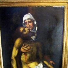 Arte: PINTURA ESPAÑOLA DEL SIGLO XVIII. PIEDAD.NUEVO PRECIO.. Lote 4343845