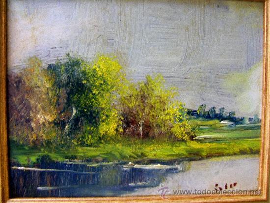 pintura española (2 cuadros). paisajes. soler. - Comprar Pintura al ...