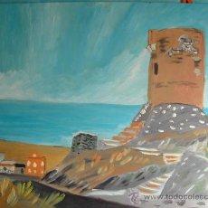Arte: ADRA. GUAINOS ,LA TORRE. 50X60 CM.APROX. CRESPO OLEO/TABLEX. Lote 16411565
