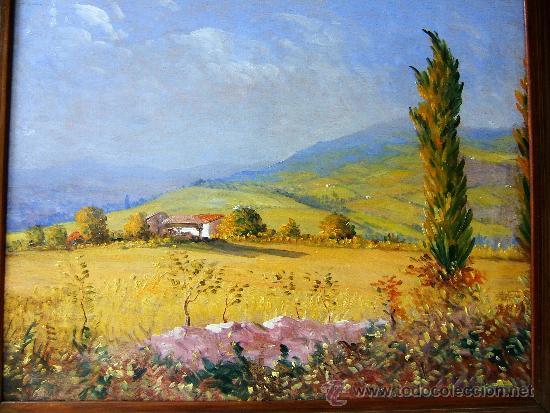 Pintura espa ola paisaje de asturias an nimo comprar - Cuadros online espana ...