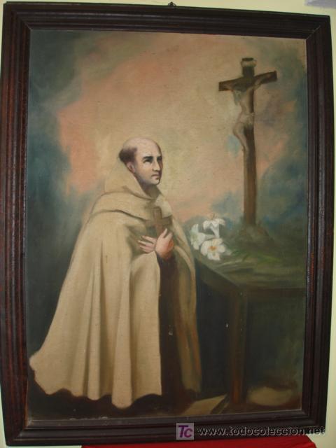 SAN JUAN DE LA CRUZ ORANDO (Arte - Pintura - Pintura al Óleo Antigua sin fecha definida)