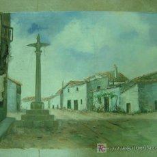 Arte: LLIRIA (VALENCIA) - OLEO SOBRE TELA - AÑOS 1940-50 - AUTOR: J. ZARAGOZÁ. Lote 26606285