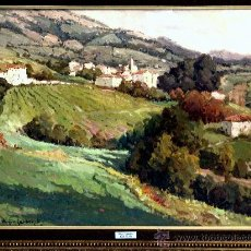 Arte: REGIL TOLOSA. MIQUEL CARBONELL (1930). FIRMADO. NUEVO PRECIO.. Lote 10299881