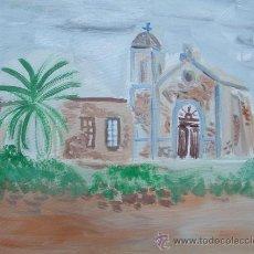 Arte: CABO DE GATA .ALMERÍA, CORTIJO EL FRAILE , 35X 33 APROX. ÓLEO/LIENZO DE LOLES. Lote 15873728