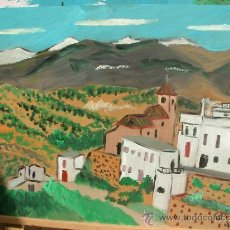 Arte: LUCAINENA DE DARRICAL 40X60 APROX. DE CRESPO,ÓLEO /TABLEX. Lote 16135380