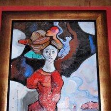 Arte: TORNER DE SEMIR. OBRA ORIGINAL OLEO SOBRE LIENZO. COA.. Lote 26408579