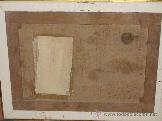 Arte: IMPRESIONANTE ANTIGUO OLEO XVIII-XIX, BODEGON FLORES - Foto 9 - 25719592