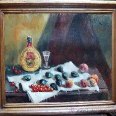 Arte: 1924.- OLEO SOBRE TELA 53X65. VICENTE RINCON. BODEGÓN. Lote 24674615
