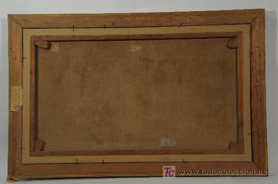Arte: Oleo sobre tela firmado Marqués - Foto 4 - 12155798