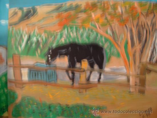 ÉBANO , ÓLEO /MADERA 50X60 DE CRESPO (Arte - Pintura - Pintura al Óleo Contemporánea )