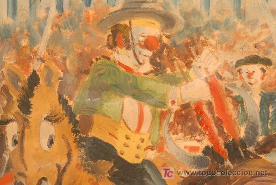 Arte: Oleo sobre papel firmado A. Mut Torroja - Foto 3 - 12469191