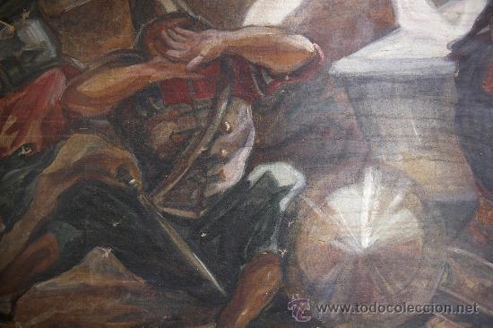 Arte: Kallinik Gousseff, la resurección de jesús, 1928, pintura al óleo sobre tela. 123 x 176 cm - Foto 8 - 22974035