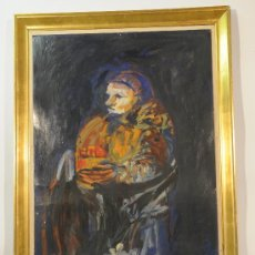 Arte: OLEO SOBRE CARTÓN FIRMADO JORDI SARRÁ. Lote 12415284