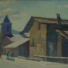 Arte: ODENA, ISIDRE, PINTOR NACIDO EN TERRASSA EN 1910, PALLEROLS DEL CANTO. Lote 26330474