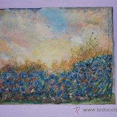 Arte: OLEO / LIENZO - FIRMADO POR A. TUÑÓN - SIN FECHA. Lote 27622991