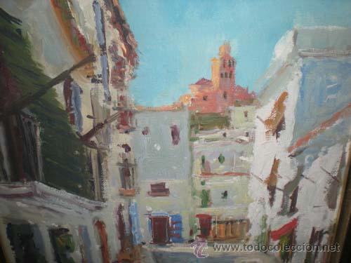 Arte: OLEO CALLE PUEBLO - Foto 2 - 25815158