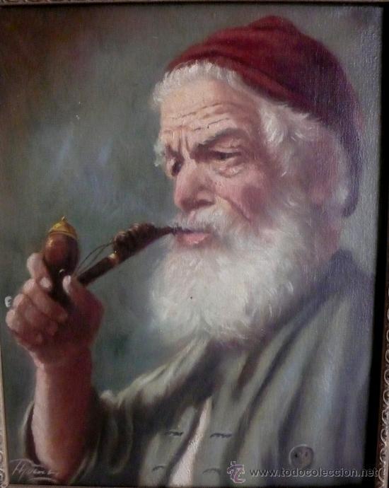 Arte: OLEO SOBRE TABLA FDO. POR UN CONOCIDO PINTOR ALEMAN - Foto 2 - 27348818