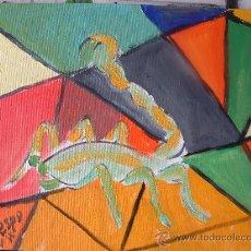 Arte: HOROSCOPO, ESCORPIO , 30X24 ,ÓLEO SOBRE LIENZO EN BASTIDOR DE CRESPO. Lote 16254432