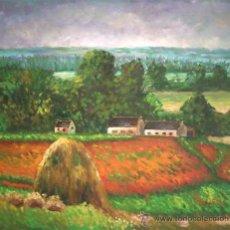Arte: OLEO SOBRE LIENZO, 60X50 CM. IMPRESIONISTA.. Lote 19994905