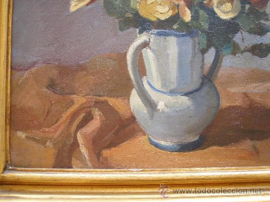 Arte: JAUME BERNADES PONT. FLORERO (1910-1973) - Foto 3 - 27493095