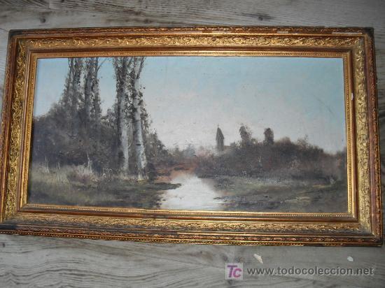 OLEO LIENZO (Arte - Pintura - Pintura al Óleo Antigua sin fecha definida)