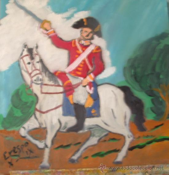 DRAGÓN INGLÉS 3, ÓLEO SOBRE MADERA DE 40X40 CM. DE CRESPO (Arte - Pintura - Pintura al Óleo Contemporánea )