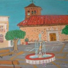 Arte: ENIX ,AL PUJARRA ,ÓLEO SOBRE MADERA 50X40 CM. DE CRESPO. Lote 18614172