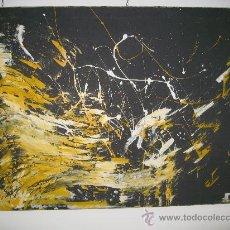 Arte: OLEO SOBRE LIENZO, CUADRO GRANDE, ABSTRACTO. FIRMADO F.COBOS. Lote 27406560