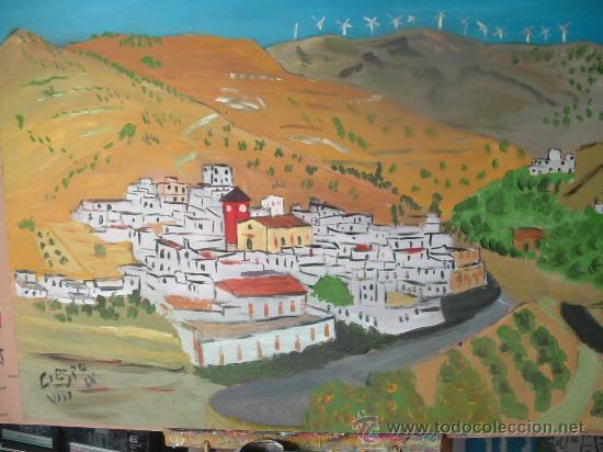 EL MARCHAL DE ANTÓN LÓPEZ ,ÓLEO SOBRE MADERA 83X63 CM. APROXIMADAMENTE DE CRESPO (Arte - Pintura - Pintura al Óleo Contemporánea )