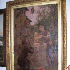 Arte: ANTIGUA PINTURA DEL PINTOR ( M.DOMENGE ). Lote 15958382