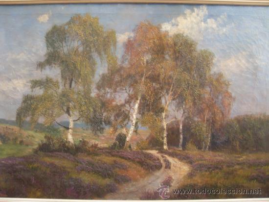 JARDINES - GRAN FORMATO 120 X 80 CM -OLEO SOBRE LIENZO (Arte - Pintura - Pintura al Óleo Moderna sin fecha definida)