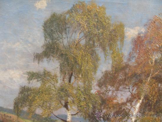 Arte: JARDINES - GRAN FORMATO 120 X 80 CM -OLEO SOBRE LIENZO - Foto 3 - 26449344
