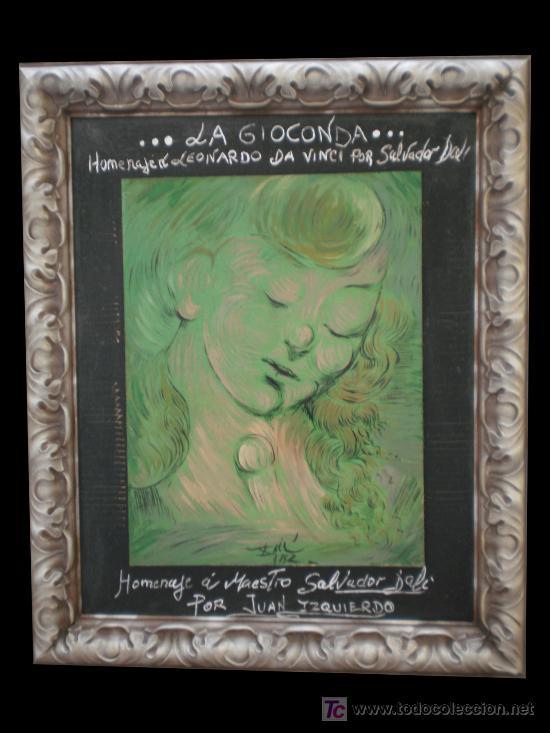 LA GIOCONDA (Arte - Pintura - Pintura al Óleo Moderna sin fecha definida)